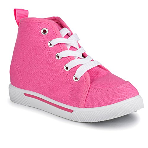 Chillipop Unisex Athletic Sneakers - Lightweight and Breathable - Athletic Leather Pink Shoes