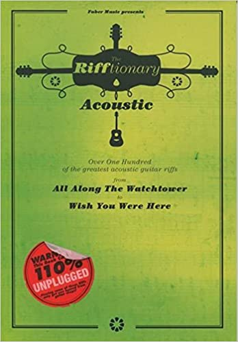 The Rifftionary Acoustic Guitar Guitar Chord Songbook: Amazon.co.uk ...