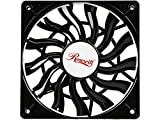 Ultra Slim Case Fan 120mm Case Fan with Long Life Sleeve Bearing, Super Quiet Computer Case Fan with PWM (Pulse Width Modulation) Supported, 15 mm Thickness Very Thin & Low Profile