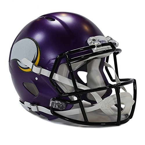 Riddell Minnesota Vikings Revolution (Minnesota Vikings Authentic Riddell Speed Football Helmet)