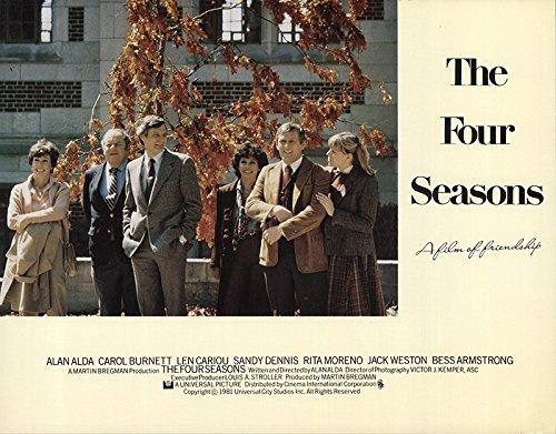 Lobby Card (The Four Seasons 1981 Authentic 11