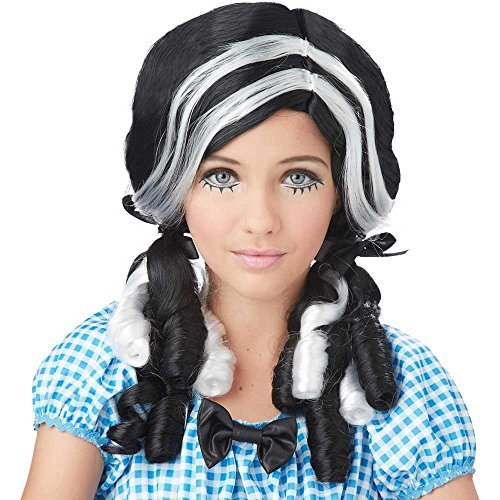California Costumes Doll Curls Wig, ACC (Doll Girl Gothic Rag)