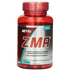ZMA Mineral Supplements