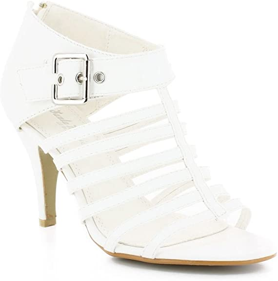 Sandales à Talons Spartiates Blanc 41 Blanc: