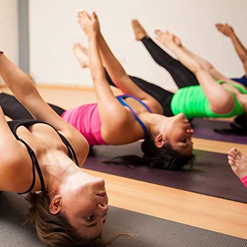 MICHA Eva Brique de Mousse environnementale Yoga Exercice Fitness Sport Accessoires Mousse Brique appropri/ée pour la m/éditation de Yoga plasticit/é Rose Rouge