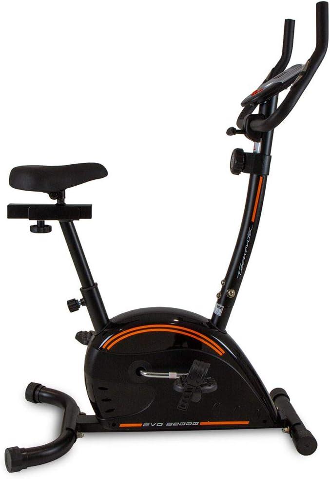 Tecnovita Bici estática EVO B2000A. Negra. Compacta. Garantía BH ...