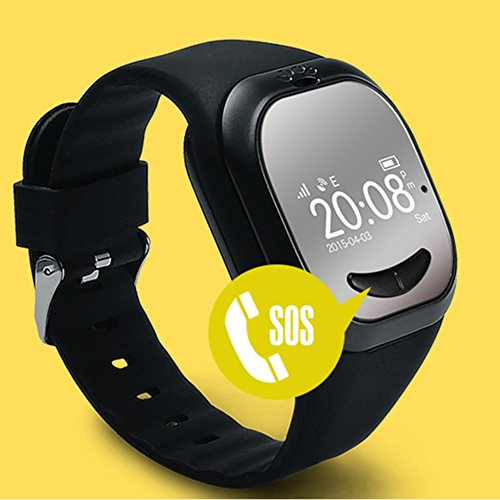 Smartwatch KINGEAR Children Anti lost Tracker Black