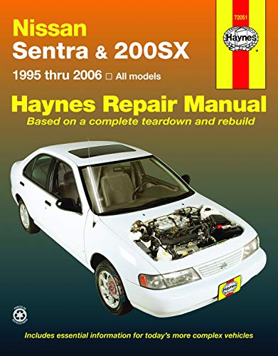 (Nissan Sentra & 200SX, 1995-2006 (Haynes Repair Manual) )