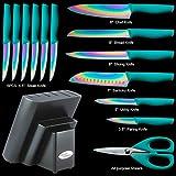 DISHWASHER SAFE Rainbow Titanium Cutlery Knife