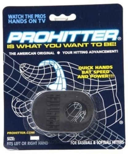 Prohitter Baseball Softball Bat Thumb Guard Batting Aid Protector Youth Black
