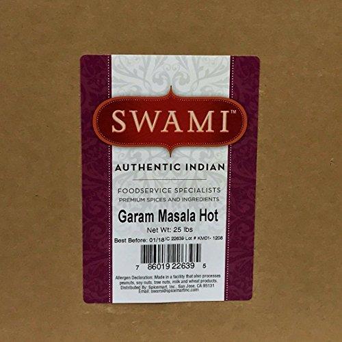 Swami Garam Masala(HOT) 25lb by Spicemart by Swami
