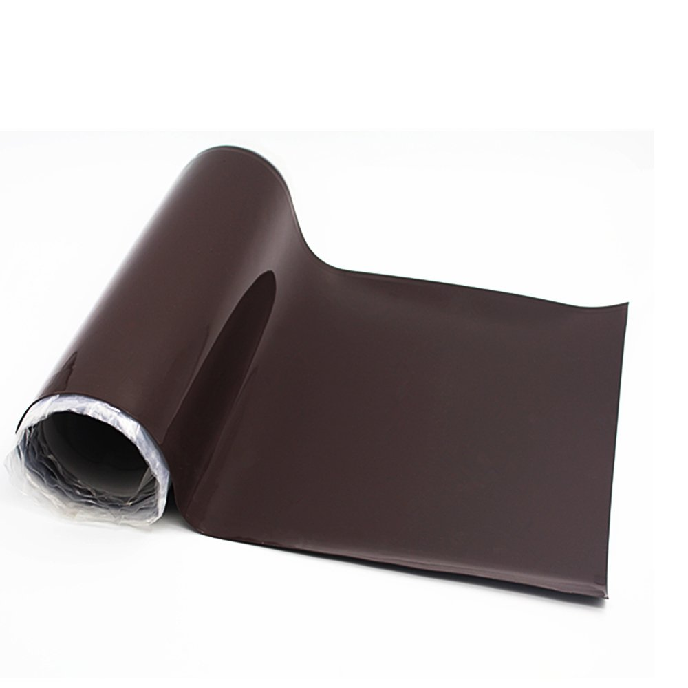 High Temperature Black Tear Resistant Silicone Rubber Sheet Gasket 0.024 by 12 by 12 inch