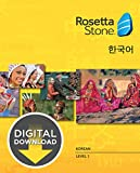Rosetta Stone Korean Level 1 [Download]