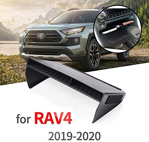 Cobeky Scatola portaoggetti per consolle centrale per RAV4 2019 2020 accessori per auto