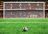 JP London MDXL4139PS uStrip Peel and Stick Soccer World Cup Fifa Net Kick Removable Football Mural, 12' x 8.5'
