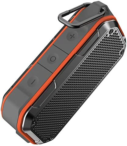 Waterproof Bluetooth Speaker, IPX7 Waterproof Speaker Bluetooth Wi-fi Out of doors Moveable Audio system TWS Stereo Wealthy Bass 12H Playtime with Microphone for Bathe Bathtub Pool Boat Seaside Dwelling Get together Journey
