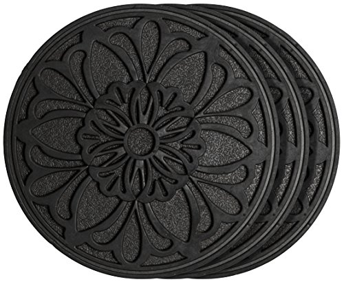- HF by LT Rubber Victorian Garden Stepping Stone, 11-3/4