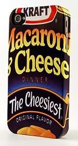 MMZ DIY PHONE CASEKraft Macaroni & Cheese Box Dimensional Case Fits iphone 4/4s