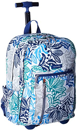 Vera Bradley Women's Rolling Backpack, Santiago