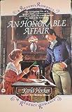 An Honorable Affair, Karla Hocker, 0446349070