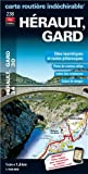 Image de 238 herault, gard cartes routiere et touristique 1/180 000