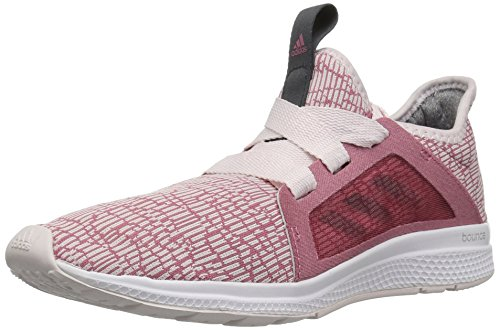 adidas Unisex Edge lux Running Shoe, Orchid Tint/Carbon/Trace Maroon, 6 M US Big Kid