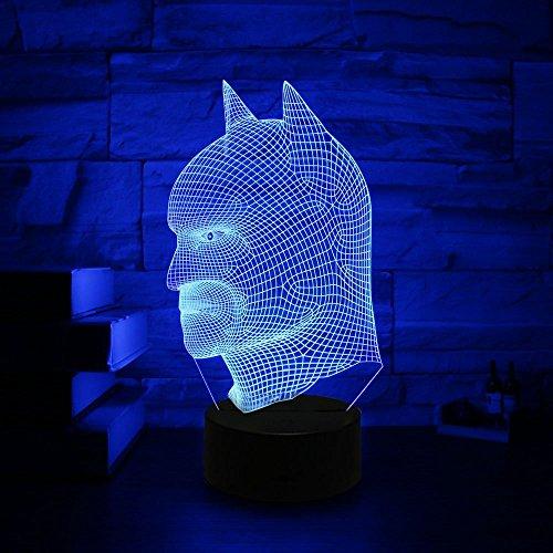 11 Batman 3D Optical Illusion Night lamp 7