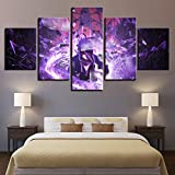 CYYCY Inkjet five-figure Naruto canvas painting home bedroom sofa wall decorative painting 11C