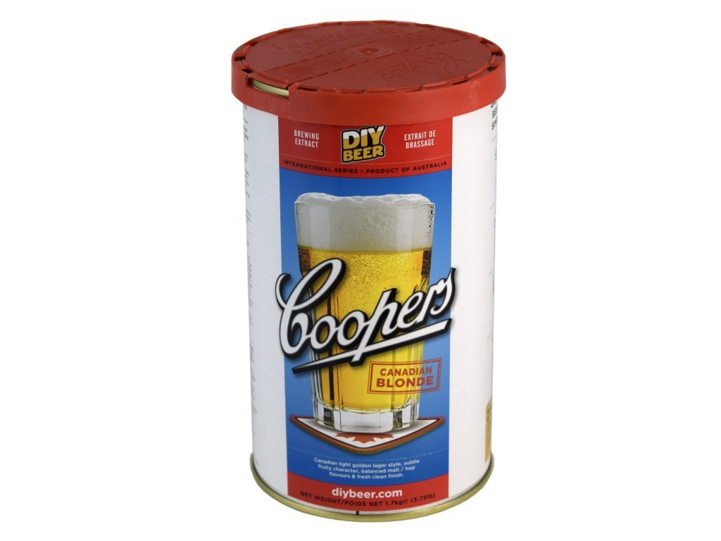 Coopers Canadian Blonde (1.7 Kg) beer kit