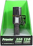 250 Lumen Bright LED Tactical Flashlight & 120 Lumen Lantern Work Light Combo