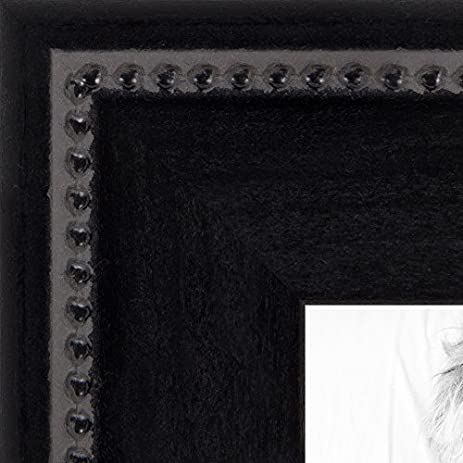 Amazon.com - ArtToFrames 18x22 inch Matte Black Slope with Beaded ...