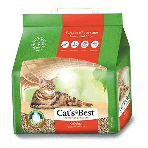 Arena biodegradable para gatos 10 litros: Amazon.es: Hogar