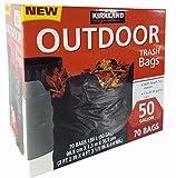 Kirkland Signature Outdoor 50 gallon Trash Bags (70 Pack)