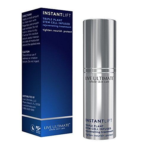 Instant Face Lift Rejuvenating Triple Stem Cell Treatment  Instant Skin Tightening and Lifting  Peptides Eliminate Wrinkles and Fine Lines  Fruitscription Formula Restores Cellular Youth for Immediate Results