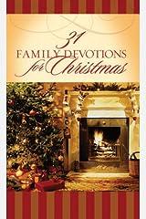 31 Family Devotions for Christmas (VALUE BOOKS) Paperback
