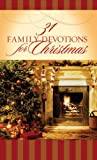 31 Family Devotions for Christmas, MariLee Parrish, 1602600244