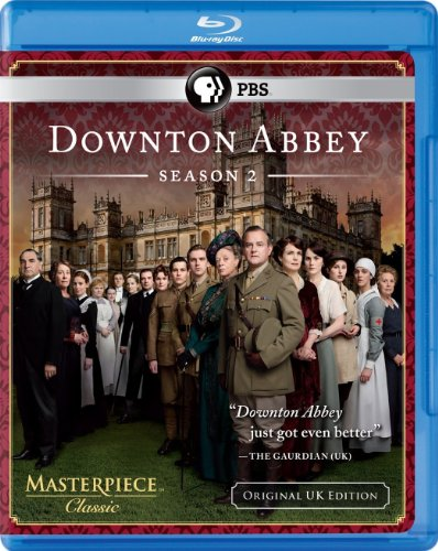 Masterpiece Classic: Downton Abbey Season 2 (Original U.K. Edition) [Blu-ray] (Downton Abbey Season 1 Blu Ray)
