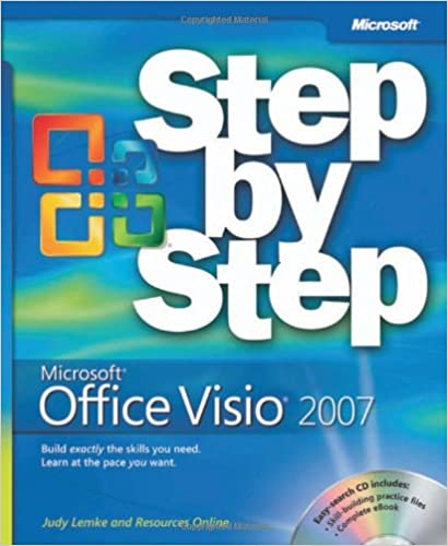 microsoft office visio 2007 step by step judy lemke resources online 9780735623576 amazoncom books - Office Online Visio