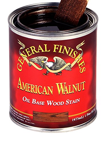 General Finishes AWQT Oil Based Penetrating Wood Stain, 1, 1 Quart, American (Oil Based Wood)