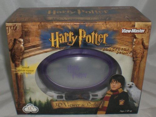 Harry Potter View-Master 3d Gift Set - Viewer and 3 Reels