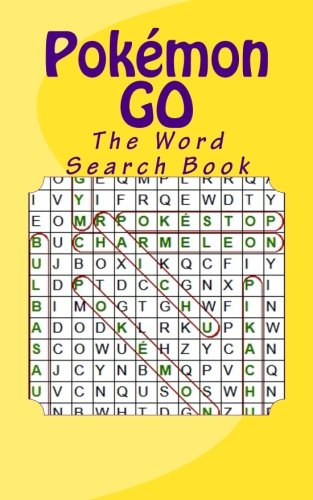 Pokémon GO: Word Search Book