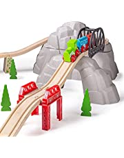 Bigjigs Hill Rail and Small Hill, Multicolour