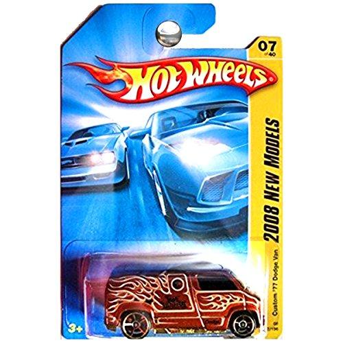 Hot Wheels 2008 New Models 1977 Custom Dodge Van Copper Brown