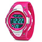 Kids Digital Watch – Girls Sports Waterproof Watch,Wrist Watches with Alarm Stopwatch for Youth Childrens