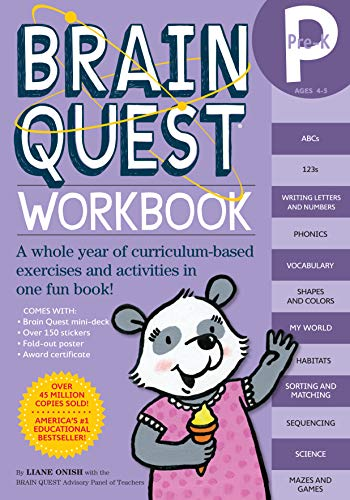 Brain Quest Workbook: Pre-K]()