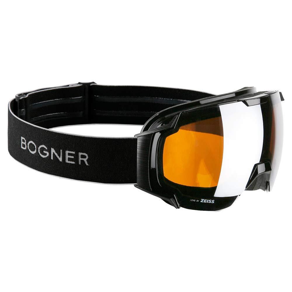 Bogner Snow Goggles Just B Bamboo Edition | Schwarz | Ski & Snowboard Brille | Hochwertige Qualität