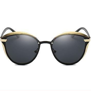 Amazon.com: Moda anteojos de sol polarizadas para mujer ojo ...