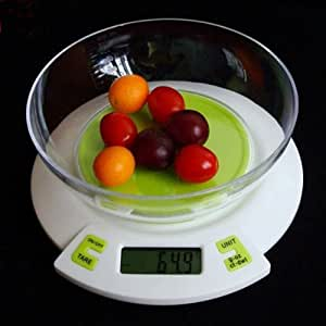 Digital Kitchen Scale 5kg/1g with Bowl