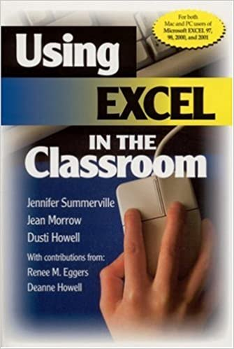 Book Using Excel in the Classroom by Jennifer B. Summerville (2002-02-19)