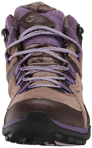 Merrell fluoresceína mediana bota impermeable Chocolate Brown